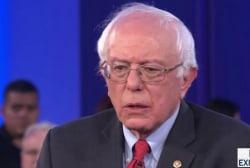 Sanders on the military, deportation