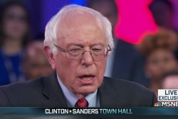 Sanders believes healthcare 'is a right'
