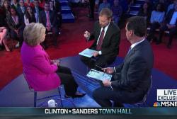 Clinton criticizes Bernie Sanders