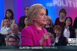 Clinton: Basta! to anti-immigrant rhetoric