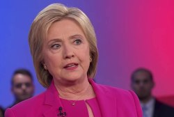 Clinton: Fed. gov't should relieve burden...