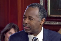 Carson: I would rather lose than lie