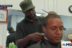 MSNBC talks barbershop politics in SC