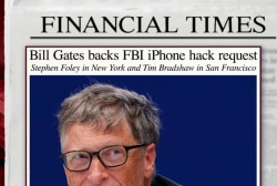 Bill Gates sides with FBI, not Apple, in case