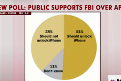 Most Americans side with unlocking iPhone