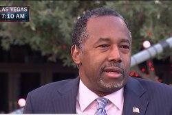 Carson: I don't support closing Guantanamo...