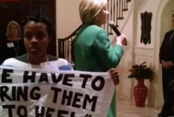 Black Lives Matter activists interrupt...