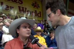 What do Rodeo-Goers think of Cruz?
