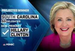 NBC News: Clinton projected winner in SC