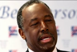 Carson does not see path forward