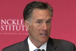 Mitt Romney: 'Dishonesty is Donald Trump's...