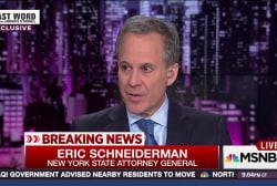 NY Atty. General responds to Trump attacks