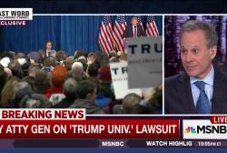 NY Atty Gen: We will prove Trump fraud case