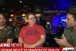 Flint voters react to Democratic debate