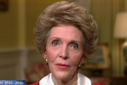 Nancy Reagan's Impact On Politics