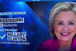 NBC News: Clinton projected winner of MS
