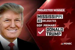 NBC News: Trump wins MS GOP primary