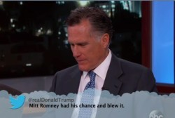 Mitt Romney reads 'Mean Tweets'
