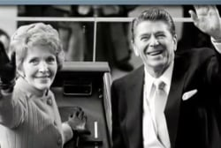 Motorcade brings Nancy Reagan's casket to...