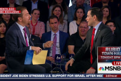 Rubio: I'm not interested in being VP