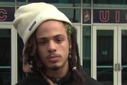 Chicago anti-Trump protester: Safety was...