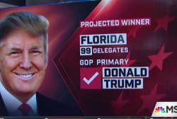 NBC News: Trump, Clinton win FL primaries