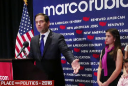 Rubio suspends bid after Florida loss