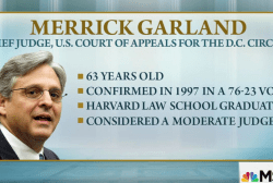 NBC News: Obama to nominate Merrick Garland