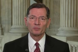 Sen. Barrasso: Decision already made, no...