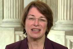 Sen. Klobuchar on SCOTUS showdown