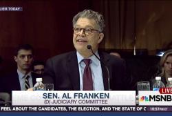 Sen. Al Franken calls out GOP over SCOTUS nom
