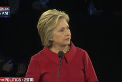 Clinton: 'Distrust & verify' with Iran