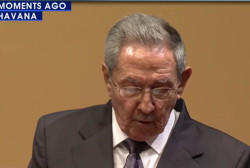 Raul Castro hits US on human rights