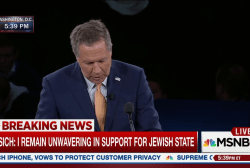 Kasich praises 'vitality of Jewish people'