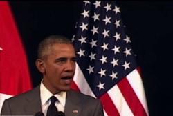 President Obama: 'The world must unite'