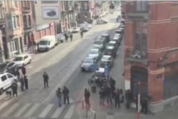 Police raids underway in Brussels