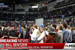 Massive turnout slows Idaho Democratic caucus