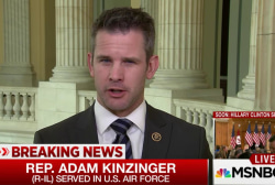 Rep. Kinzinger: We need to be on our guard