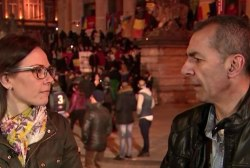 One-on-one with Syrian refugee in Brussels