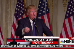 Who's to blame for the rise of Trump?