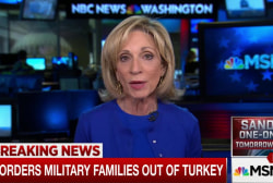 US orders military families out of Turkey