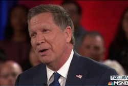 Kasich on surveilling Muslim neighborhoods