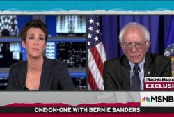 Sanders on Democratic fundraising: We'll see