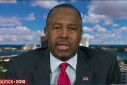 Carson: 'When are we going to mature?'