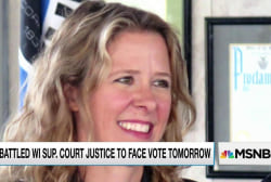 Judge faces voters' judgment in Wisconsin