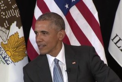 Obama: Laws 'unabashedly' discourage voting