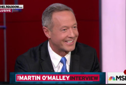 O'Malley not endorsing in Democratic race