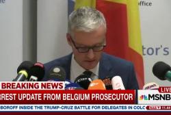 Prosecutor confirms Brussels attack arrest