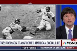 Ken Burns Explores Jackie Robinson's Legacy