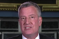 De Blasio on Clinton: Look at what she...